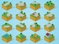Pre assembly isometric map road create an epic world with unlimited construction by using this set of this pieces available in Royalty Free Stock Images