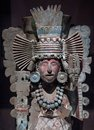 Pre-Columbian Mesoamerican stone statue Royalty Free Stock Photo