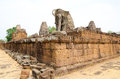 Pre rup angkor cambodia one of famous ancient temples in Royalty Free Stock Image