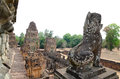 Pre rup angkor cambodia ruins of one of famous ancient temples in Stock Photo