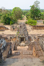 Pre rup angkor cambodia ruins of one of famous ancient temples in Royalty Free Stock Images
