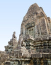 Pre rup angkor cambodia tower of one of famous ancient temples in Royalty Free Stock Photos