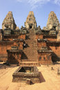 Pre Rup temple, Angkor area, Siem Reap, Cambodia Royalty Free Stock Photography