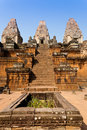 Pre Rup Temple in Angkor, Cambodia Royalty Free Stock Image