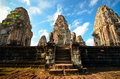 Pre rup temple angkor third tier of siem reap cambodia Stock Photo