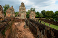 Pre rup temple siem reap cambodia Stock Photo