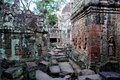 Preah khan in angkor cambodia ruins near siem reap Stock Images