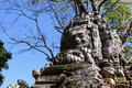 Preah Khan temple at Angkor Stock Images