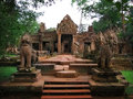 Preah Khan temple in Angkor Wat (Cambodia). Stock Photography