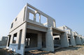 Precast building the structure are made from prefabrication system Royalty Free Stock Photo