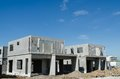 Precast building the structure are made from prefabrication system all pieces are made from high strength concrete then assembled Royalty Free Stock Photo