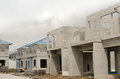 Precast building the structure are made from prefabrication system all pieces are made from high strength concrete then assembled Stock Image