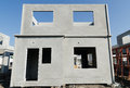 Precast building the structure are made from prefabrication system all pieces are made from high strength concrete then assembled Stock Images