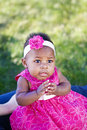 Precious Baby Girl Royalty Free Stock Photo