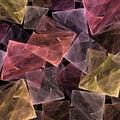 Precious stones fractal Stock Images