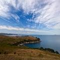 Precipitous coast. Royalty Free Stock Photo