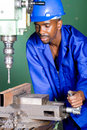 Precision drilling Stock Photos