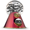 Prediction Gumball Machine Prophesy Fate Destiny Fortune Teller Royalty Free Stock Photo