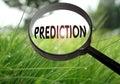 Prediction Royalty Free Stock Photo