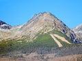 Predne Solisko mountain in autumn