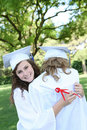 Preety Woman at Graduation Royalty Free Stock Photo