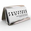 Preferred Provider Approved Vendor Business Cards Best Service
