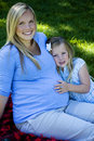 Pregnancy Стоковая Фотография RF