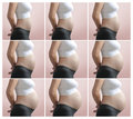 Pregnancy Step by Step Royalty Free Stock Photo