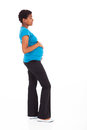 Pregnant african woman Royalty Free Stock Photography