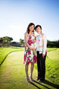 Pregnant asian woman Royalty Free Stock Image