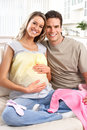 Pregnant woman Royalty Free Stock Photography