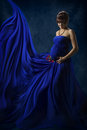 Pregnant Woman Beauty Portrait, Beautiful Maternity Concept, Mot Royalty Free Stock Photo