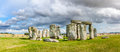 The prehistoric monument of Stonehenge Royalty Free Stock Photo