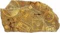 Prehistoric petroglyph Royalty Free Stock Photo