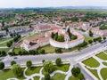 Prejmer Saxon Church, Transylvania, Romania Royalty Free Stock Photo