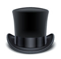 Premier chapeau noir Photo stock
