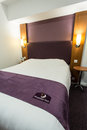 The premier inn hotel located near terminal heathrow airport london this image could be used for a number of articles relating to Stock Photos