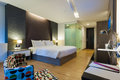 Premier room luxury modern in hotel with facilities bangkok thailand Stock Image