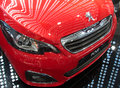 Premiere and promotion of Peugeot 108 model at the Belgrade Motor Show