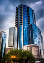 The Premiere Trade Plaza Office Tower in Orlando, Florida. Royalty Free Stock Photo