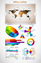 Premium infographics master collection: Stock Images