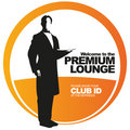 Premium lounge vector label Royalty Free Stock Images