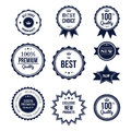 Premium quality best choice labels set