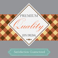 Premium quality box design retro style background for product promotion Royalty Free Stock Photography