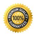 Premium quality label Royalty Free Stock Photo