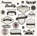 Premium Quality Labels Royalty Free Stock Photos
