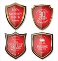 Premium Quality retro Labels Royalty Free Stock Photo