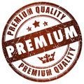 Premium quality stamp Royalty Free Stock Image