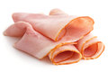 Premium slices of ham Royalty Free Stock Photo