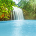 Prenn waterfall Royalty Free Stock Photography